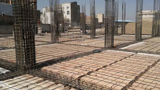 کاربرد سقف خرپای میلگردی در ساختمانهای بتنی