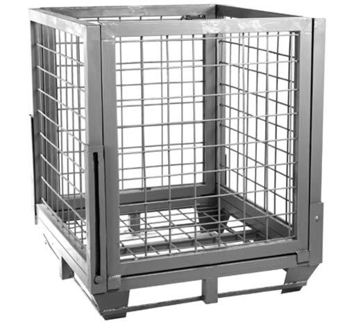 باکس پالت فلزی مدل باردان 200 فولاد بافت